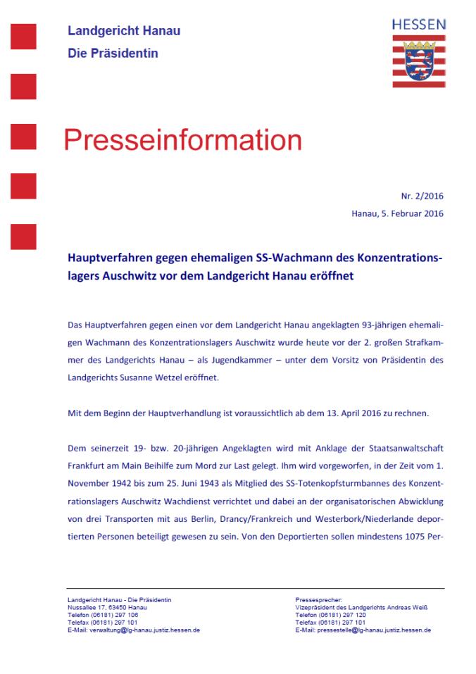 PresseErkl_Eröffnung_Tremmel_05022016